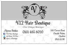 Bronze V12 Hair Boutique